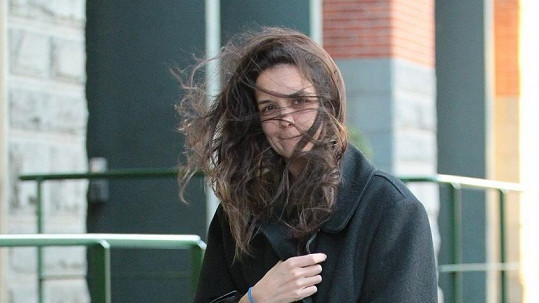 Katie Holmes o svůj vzhled příliš nedbá.