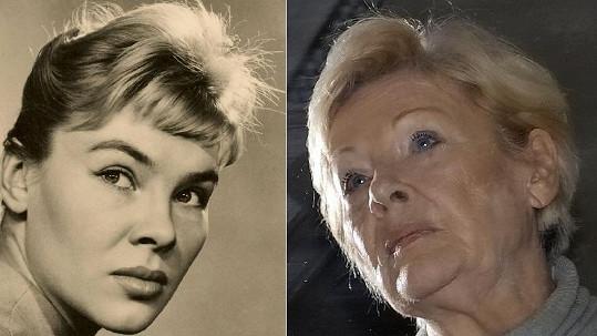 Valentina Thielová v padesátých letech a v roce 2013.