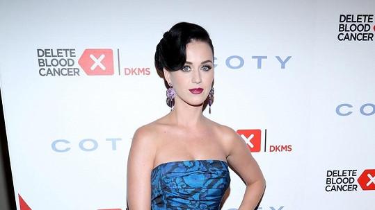 Katy Perry v otci oporu nenašla.