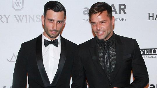 Ricky Martin je opět zamilovaný.