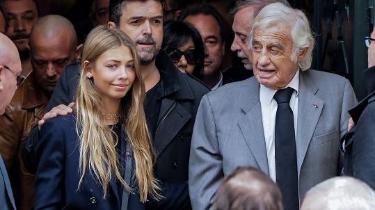 Stella Eva Angelina s otcem
