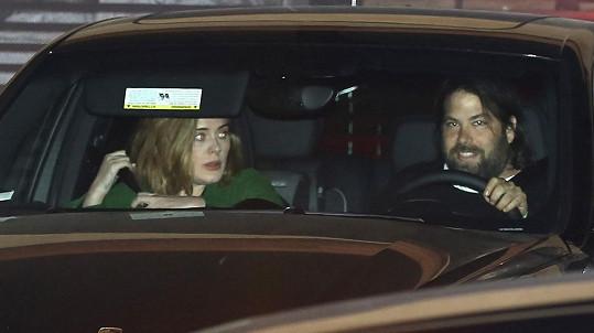 Adele a Simon Konecki se setkali s Robbiem a jeho ženou.