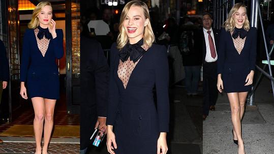 Australská herečka Margot Robbie (27)
