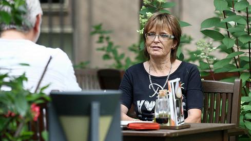Olga Matušková přiletěla do Prahy.