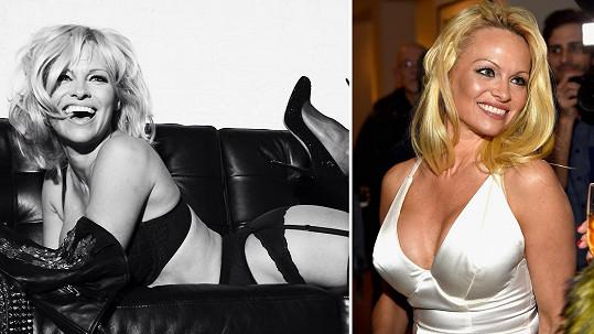 Pamela Anderson ví, co na chlapy platí...