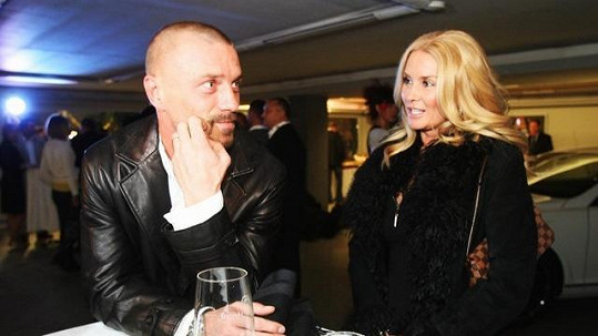 Tomáš Řepka se svou stále ještě právoplatnou manželkou Renátou.