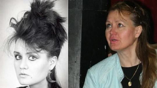 Júlia Hečková před lety a dnes