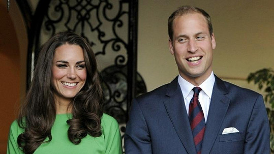 Kate Middleton a princ William.