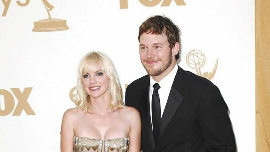 Anna Faris s manželem Chrisem Prattem budou chovat.