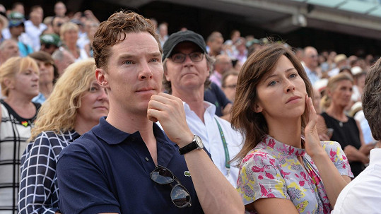 Benedict Cumberbatch a jeho budoucí manželka