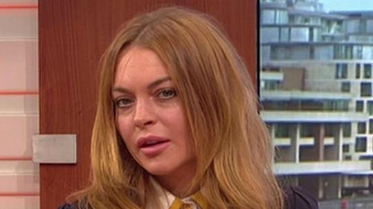 Lindsay Lohan přišla povyprávět o svém profesním posunu směrem k divadlu.
