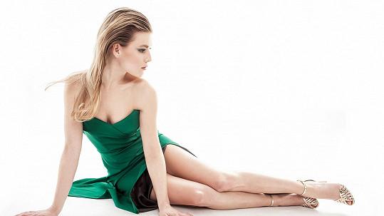 Míša Gemrotová jako modelka