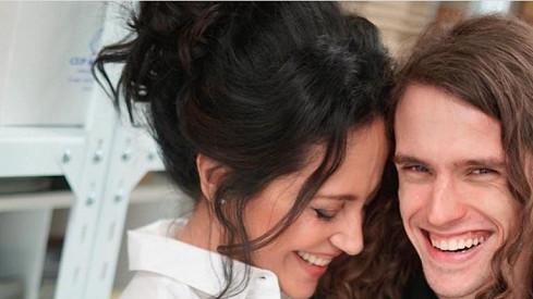 Lucie Bílá se synem Filipem Kratochvílem