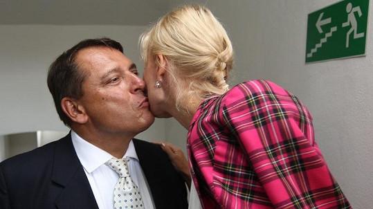 Jiří Paroubek s manželkou Petrou. Vratí se k sobě?