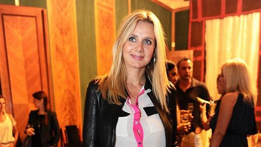Lucie Koňaříková Salamé se těší na druhého potomka.