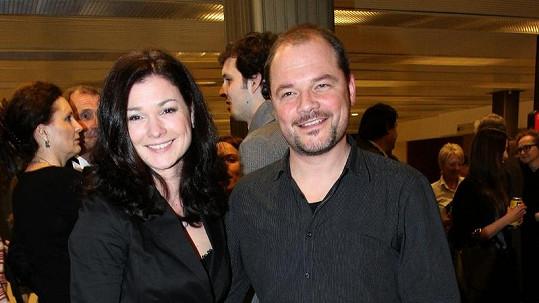 Martin Preiss s manželkou Martinou Válkovou