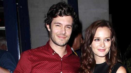 Leighton Meester a Adam Brody čekají druhé dítě.
