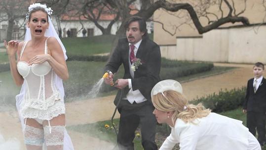 Andrea Verešová dostala roli v seriálu