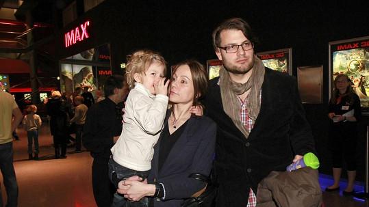 Petr Svoboda vyrazil s rodinkou do kina.