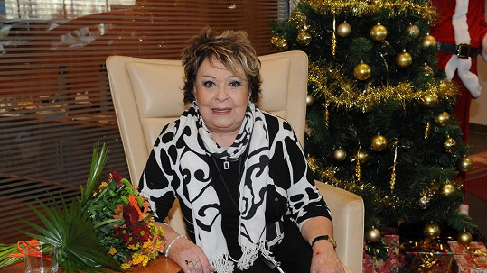 Jiřina Bohdalová si umí Vánoce užít
