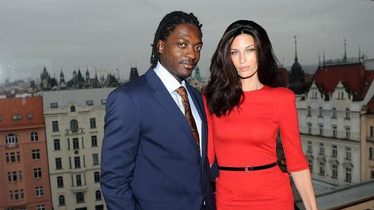 Viera Schottertová s manželem Souleymanem