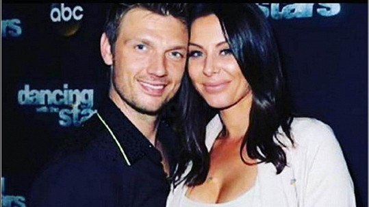 Nick Carter s těhotnou manželkou Lauren
