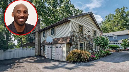 Dům, kde vyrůstal Kobe Bryant, je na prodej.