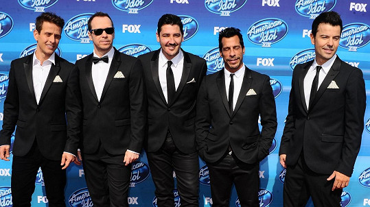 New Kids on the Block na finále soutěže American Idol