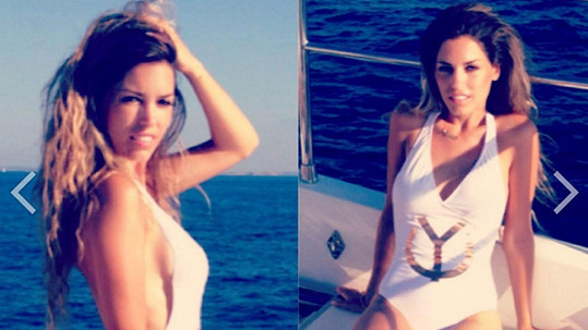 Yolanthe je krásnou manželkou hvězdného nizozemského fotbalisty.
