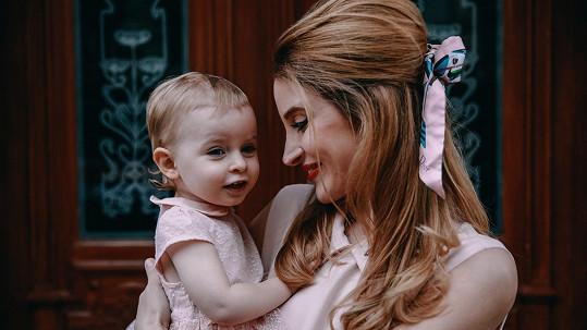 Marie Renčová pózovala s dcerou Sofií.