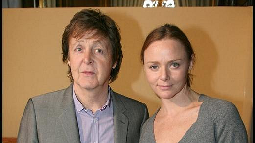 Paul McCartney a jeho dcera Stella.
