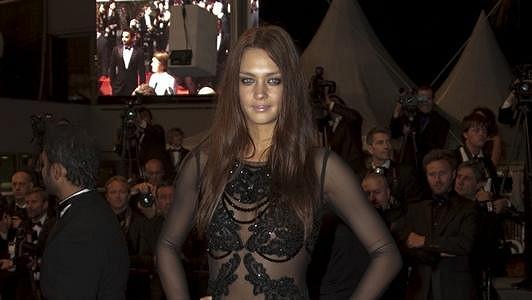 Candice Boucher svými šaty upoutala nejvíce pozornosti.