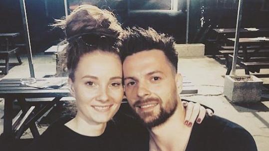 Michal Gulaši se sestrou
