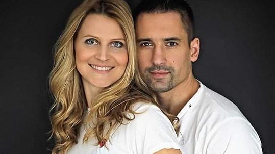 Tomáš Plekanec a Lucie Šafářová
