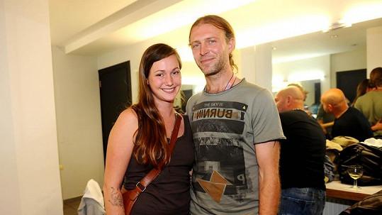 David Škach s přítelkyní Katkou.