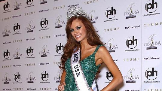 Miss USA pro rok 2011 Alyssa Campanella.