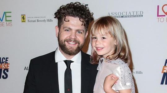 Jack Osbourne s nejstarší dcerou Pearl