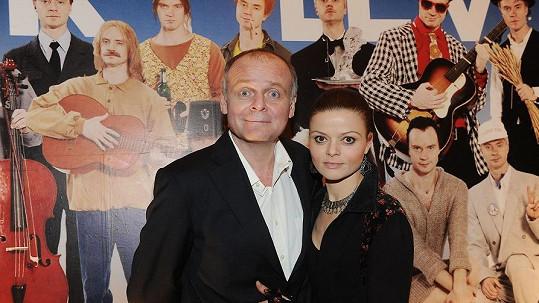 Igor Bareš s manželkou Antonií Talackovou.