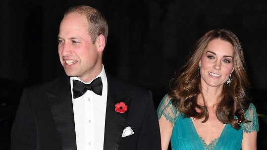 Vévoda a vévodkyně z Cambridge William a Kate