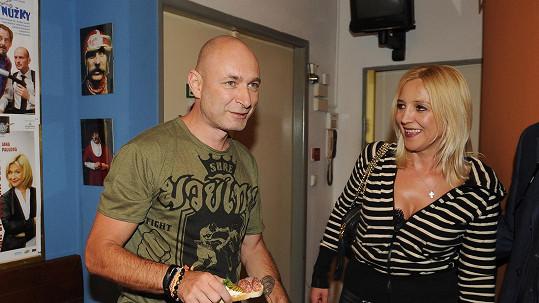 Daniel Landa s manželkou Mirjam