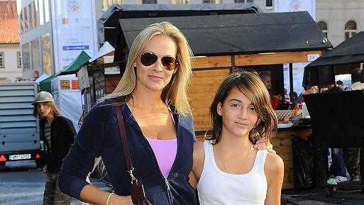 Martina s dcerou Jessicou.