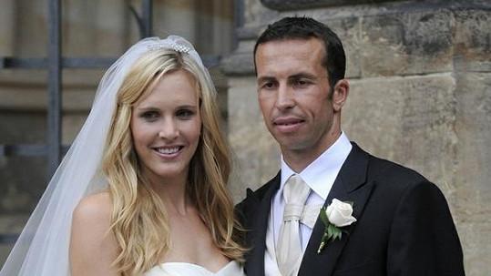 Radek Štěpánek a Nicole Vaidišová se brali 17. července 2010.