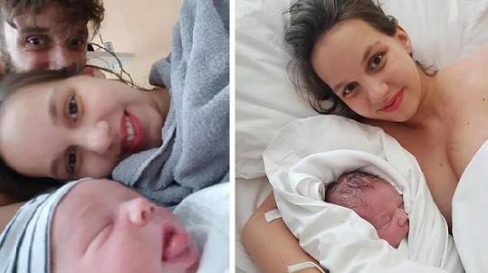 Míša a Roman Tomešovi mají dalšího syna.