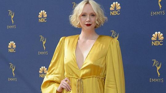 Gwendoline Christie na cenách Emmy