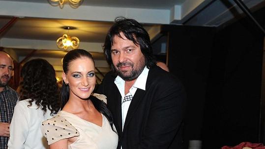 Jiří Pomeje a jeho dnes již manželka Andrea.