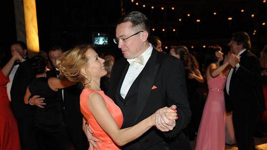 Roman Šmucler s přítelkyní Ivou