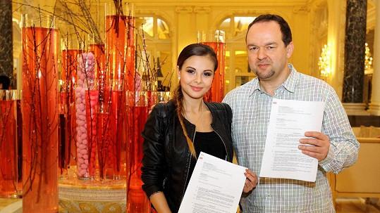 Monika Bagárová a Vladimír Kočandrle
