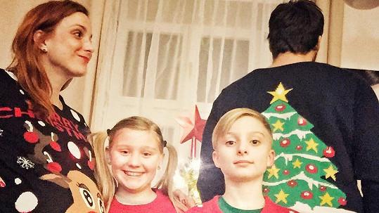 Michaela Maurerová se zasloužila o rozšíření rodinky.