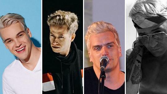Mladí zpěváci se hromadně odbarvují na blond.