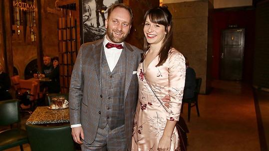 Veronika Khek Kubařová s manželem, divadelním režisérem Pavlem Khekem